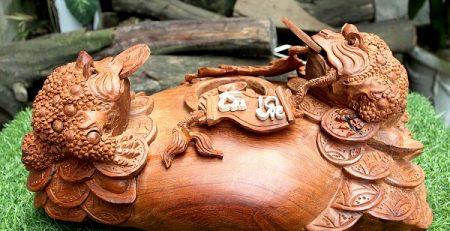 Thiềm Thừ gỗ